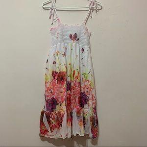 🧡3/$30 Event Floral Summer Dress XS